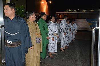 平成二十五年九月場所 阿武松部屋千秋楽打ち上げパーティー開催